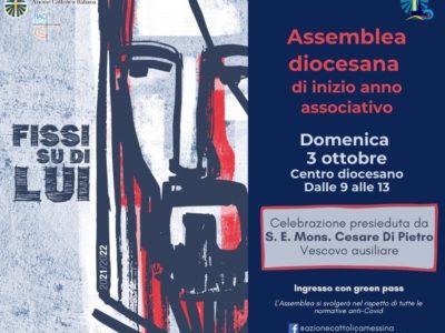 Assemblea diocesana inizio Anno Associativo 2021-2022